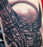 фото тату росомаха от 27.04.2018 №027 — Wolverine tattoo — tattoo-photo.ru