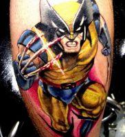 фото тату росомаха от 27.04.2018 №030 — Wolverine tattoo — tattoo-photo.ru