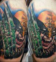 фото тату росомаха от 27.04.2018 №031 — Wolverine tattoo — tattoo-photo.ru