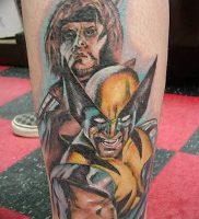 фото тату росомаха от 27.04.2018 №032 — Wolverine tattoo — tattoo-photo.ru