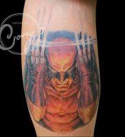 фото тату росомаха от 27.04.2018 №033 — Wolverine tattoo — tattoo-photo.ru