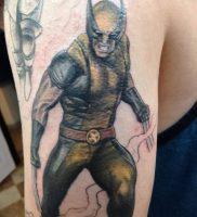 фото тату росомаха от 27.04.2018 №034 — Wolverine tattoo — tattoo-photo.ru