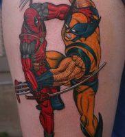 фото тату росомаха от 27.04.2018 №035 — Wolverine tattoo — tattoo-photo.ru