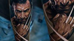 фото тату росомаха от 27.04.2018 №087 - Wolverine tattoo - tattoo-photo.ru