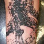 фото тату росомаха от 27.04.2018 №095 - Wolverine tattoo - tattoo-photo.ru