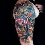 фото тату росомаха от 27.04.2018 №106 - Wolverine tattoo - tattoo-photo.ru