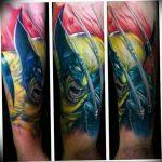 фото тату росомаха от 27.04.2018 №107 - Wolverine tattoo - tattoo-photo.ru