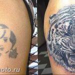 фото неудачной тату (партак) 23.12.2018 №030 - photo unsuccessful tattoo - tattoo-photo.ru