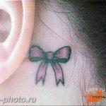 фото тату бантик 24.12.2018 №106 - photo tattoo bow - tattoo-photo.ru
