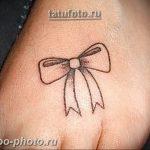 фото тату бантик 24.12.2018 №171 - photo tattoo bow - tattoo-photo.ru