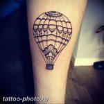 фото тату воздушный шар 22.12.2018 №019 - photo tattoo balloon - tattoo-photo.ru