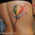 фото тату воздушный шар 22.12.2018 №209 - photo tattoo balloon - tattoo-photo.ru