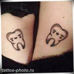 фото тату зуб 23.12.2018 №026 - photo tattoo tooth - tattoo-photo.ru