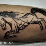 фото тату лошадь 24.12.2018 №570 - photo horse tattoo - tattoo-photo.ru