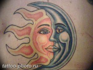 фото тату полумесяц 22.12.2018 №165 - crescent tattoo photo - tattoo-photo.ru