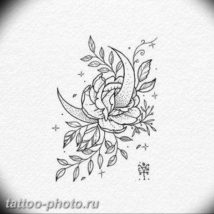 фото тату полумесяц 22.12.2018 №173 - crescent tattoo photo - tattoo-photo.ru