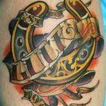 фото тату подкова от 01.06.2018 №025 - horseshoe tattoos - tattoo-photo.ru
