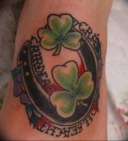 фото тату подкова от 01.06.2018 №113 — horseshoe tattoos — tattoo-photo.ru