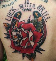 фото тату подкова от 01.06.2018 №120 — horseshoe tattoos — tattoo-photo.ru