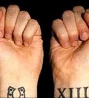 фото тату подкова от 01.06.2018 №123 — horseshoe tattoos — tattoo-photo.ru 234523
