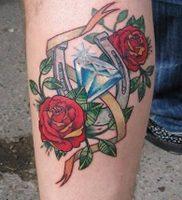 фото тату подкова от 01.06.2018 №127 — horseshoe tattoos — tattoo-photo.ru
