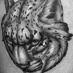 Фото рисунка Тату снежный барс 20.11.2018 №049 - Tattoo snow leopard - tattoo-photo.ru