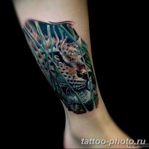 Фото рисунка Тату снежный барс 20.11.2018 №096 - Tattoo snow leopard - tattoo-photo.ru