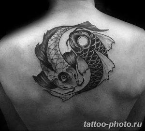 Фото рисунка тату Инь-Янь 08.11.2018 №032 - photo tattoo Yin-Yang - tattoo-photo.ru