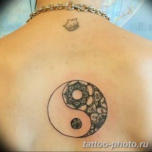 Фото рисунка тату Инь-Янь 08.11.2018 №053 - photo tattoo Yin-Yang - tattoo-photo.ru