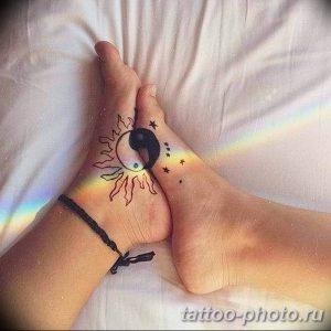 Фото рисунка тату Инь-Янь 08.11.2018 №067 - photo tattoo Yin-Yang - tattoo-photo.ru