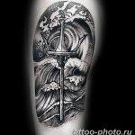 Фото рисунка тату Трезубец 07.11.2018 №013 - photo tattoo Trident - tattoo-photo.ru