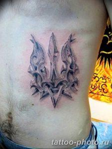 Фото рисунка тату Трезубец 07.11.2018 №133 - photo tattoo Trident - tattoo-photo.ru