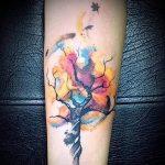 Фото рисунка тату дерево 07.11.2018 №480 - photo tattoo tree - tattoo-photo.ru
