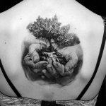 Фото рисунка тату дерево 07.11.2018 №483 - photo tattoo tree - tattoo-photo.ru