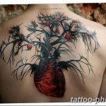 Фото рисунка тату дерево 07.11.2018 №487 - photo tattoo tree - tattoo-photo.ru