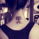 Фото рисунка тату дерево 07.11.2018 №499 - photo tattoo tree - tattoo-photo.ru
