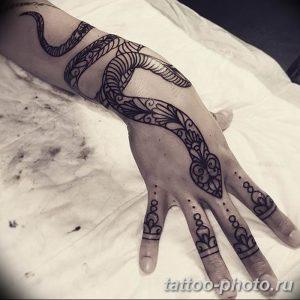 Фото рисунка тату змея 23.11.2018 №013 - snake tattoo photo - tattoo-photo.ru