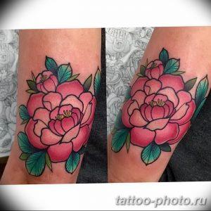 Фото рисунка тату камелия 24.11.2018 №012 - photo tattoo camellia - tattoo-photo.ru