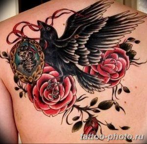 Фото рисунка тату камелия 24.11.2018 №017 - photo tattoo camellia - tattoo-photo.ru