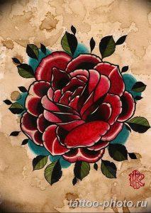 Фото рисунка тату камелия 24.11.2018 №020 - photo tattoo camellia - tattoo-photo.ru