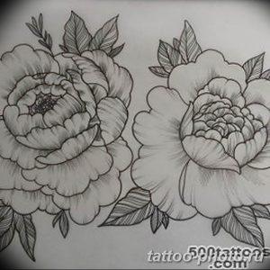 Фото рисунка тату камелия 24.11.2018 №024 - photo tattoo camellia - tattoo-photo.ru