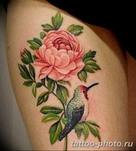 Фото рисунка тату камелия 24.11.2018 №034 - photo tattoo camellia - tattoo-photo.ru