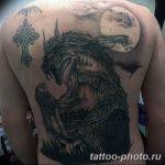 Фото рисунка тату оборотень 24.11.2018 №001 - photo tattoo werewolf - tattoo-photo.ru