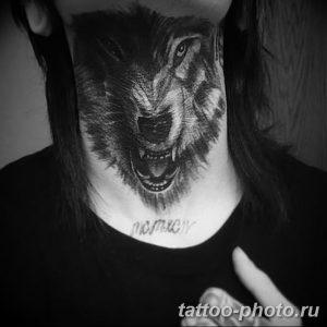 Фото рисунка тату оборотень 24.11.2018 №009 - photo tattoo werewolf - tattoo-photo.ru