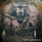 Фото рисунка тату оборотень 24.11.2018 №015 - photo tattoo werewolf - tattoo-photo.ru
