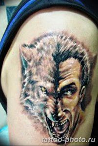 Фото рисунка тату оборотень 24.11.2018 №026 - photo tattoo werewolf - tattoo-photo.ru