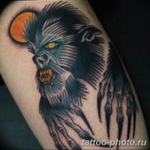 Фото рисунка тату оборотень 24.11.2018 №036 - photo tattoo werewolf - tattoo-photo.ru