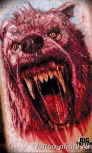 Фото рисунка тату оборотень 24.11.2018 №037 - photo tattoo werewolf - tattoo-photo.ru