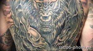 Фото рисунка тату оборотень 24.11.2018 №039 - photo tattoo werewolf - tattoo-photo.ru
