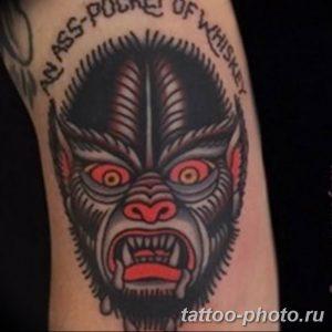Фото рисунка тату оборотень 24.11.2018 №040 - photo tattoo werewolf - tattoo-photo.ru